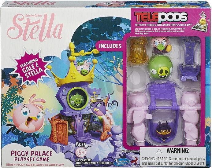 Hasbro Angry Birds Stella - Pałac królowej z telepodem A8884
