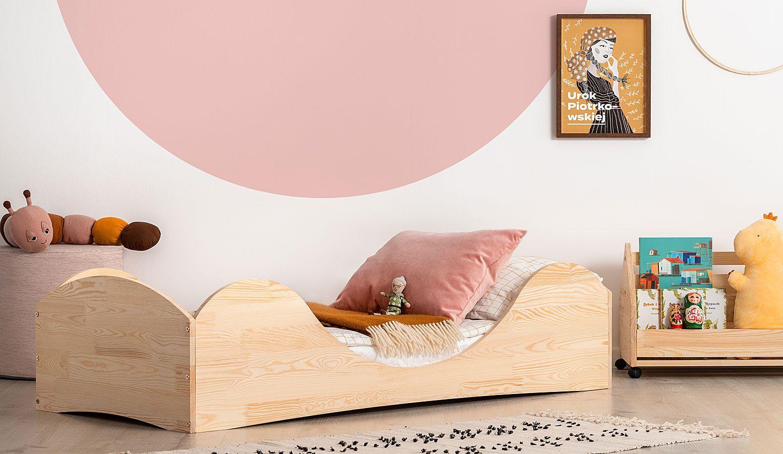 Drewniane łóżko młodzieżowe Abbie 2X- 21 rozmiarów