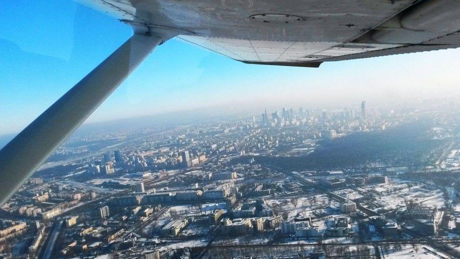 Lot widokowy samolotem dla dwojga - Toruń - 10 minut