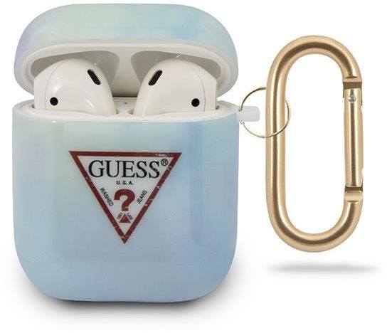 Guess GUACA2TPUMCGC02 AirPods cover niebieski/blue Tie & Dye Collection Guess / GUE000845