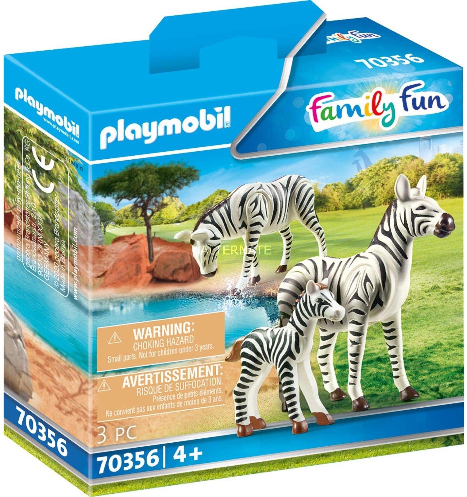 Playmobil - Zebry w Zoo 70356