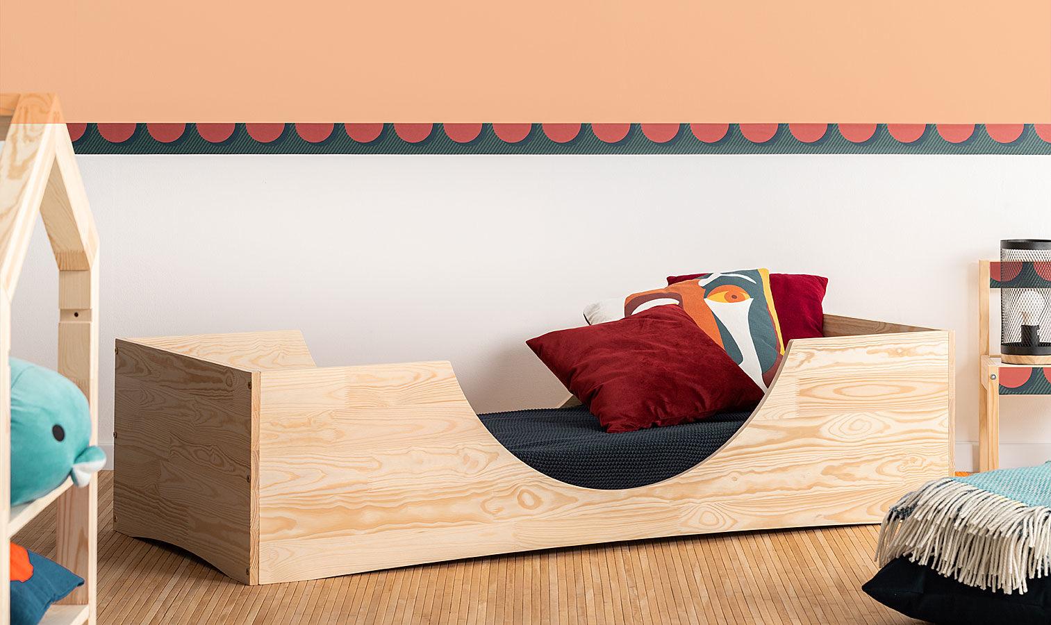 Drewniane łóżko młodzieżowe Abbie 3X- 21 rozmiarów