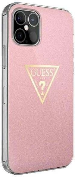 """Guess GUHCP12SPCUMPTPI iPhone 12 5,4"""" różowy/pink hardcase Metallic Collection Guess / GUE00084"""