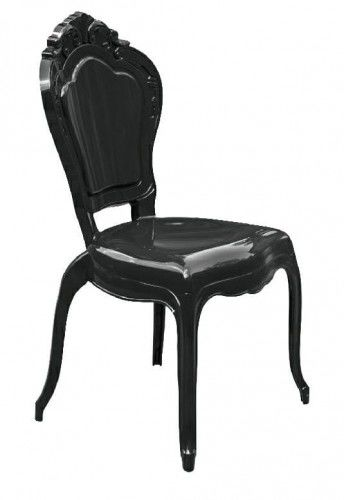 Krzesło czarne King