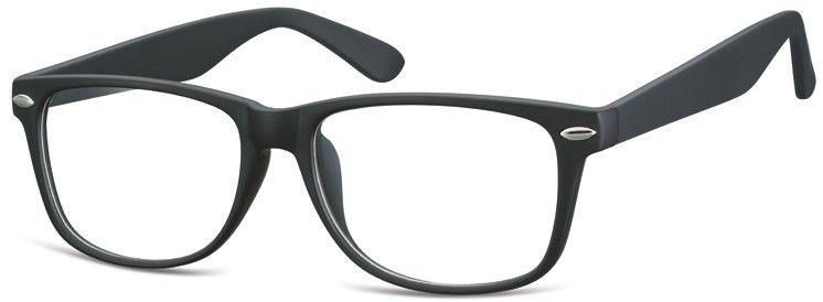 Okulary oprawki zerowki korekcyjne nerdy Sunoptic CP169 czarne