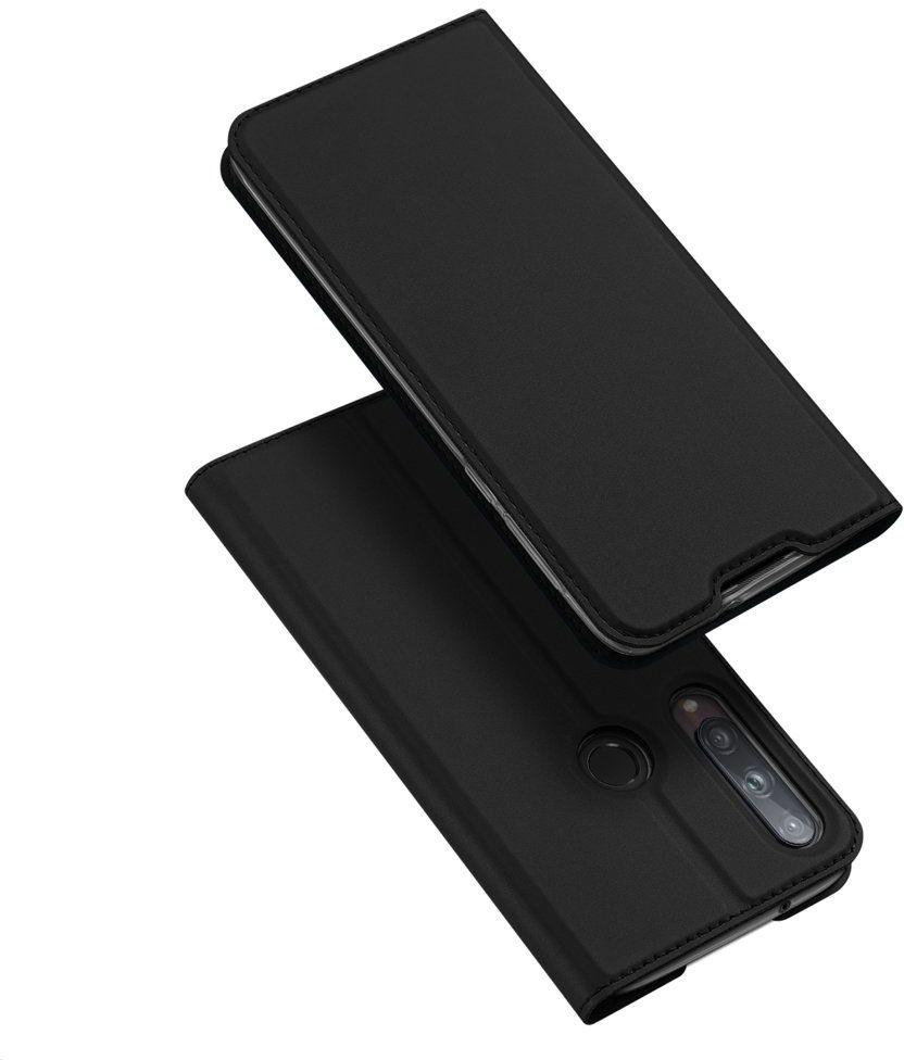 DUX DUCIS Skin Pro kabura etui pokrowiec z klapką Huawei P40 Lite E czarny