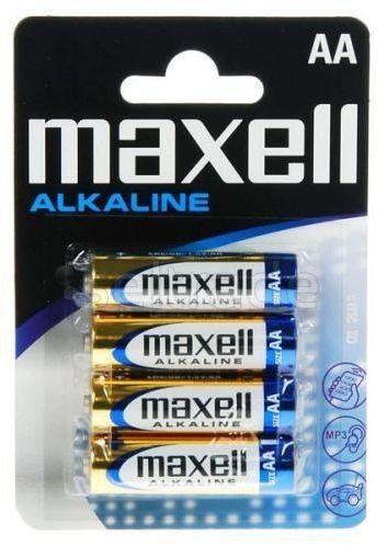 Bateria alkaliczna Maxell Alkaline LR6 AA 4 sztuki
