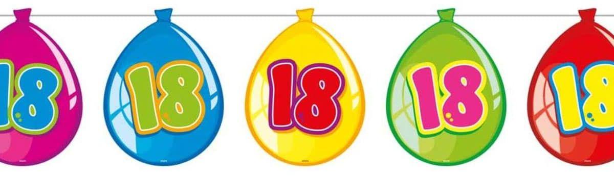 Baner flagi baloniki na 18-tke - 10 m - 1 szt.