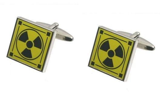 Spinki do mankietów Radioaktywne PS-172