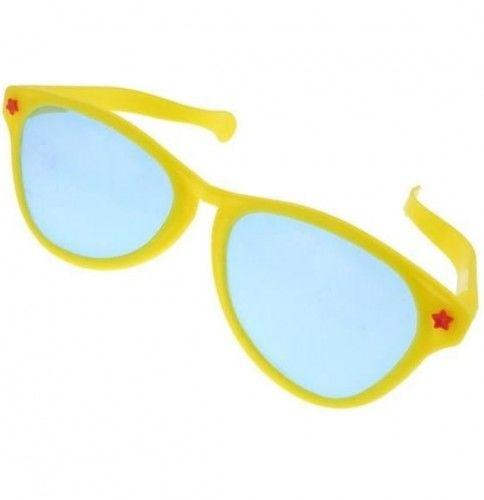 Okulary Maxi, żółte