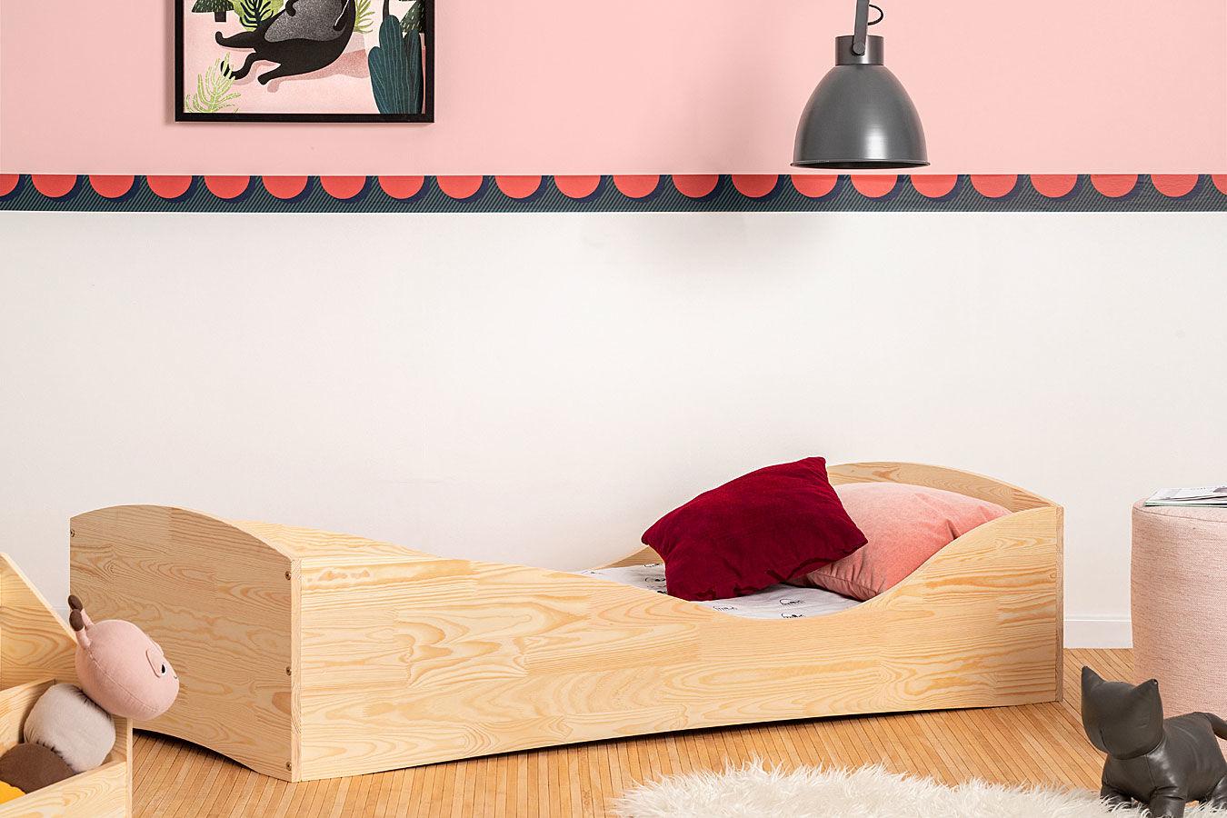Drewniane łóżko młodzieżowe Abbie 5X- 21 rozmiarów