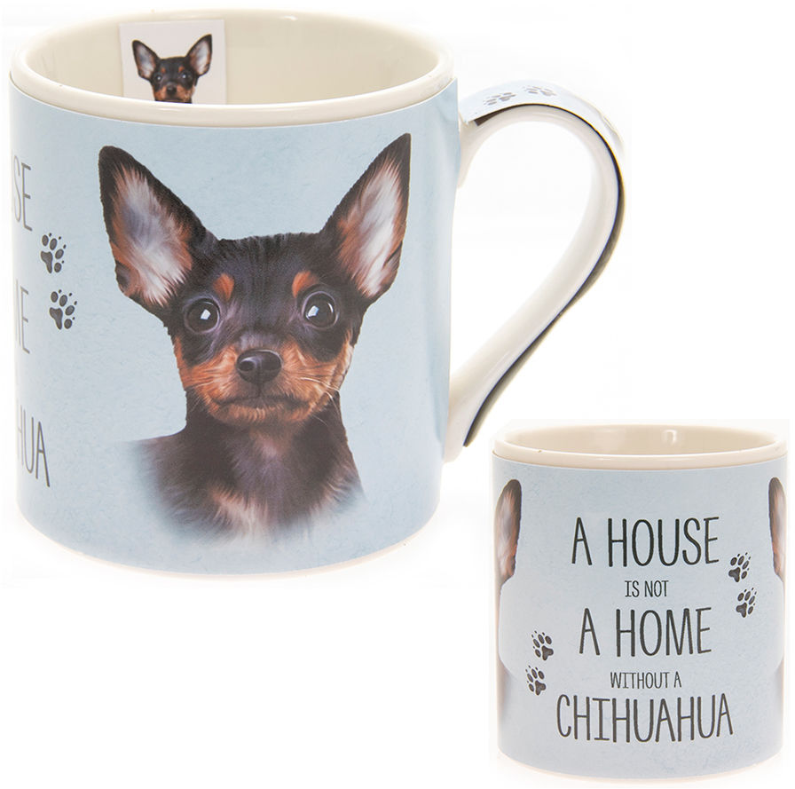KUBEK PORCELANOWY Pies - Chihuahua