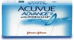 Soczewki Johnson&Johnson Acuvue Advance 6 szt