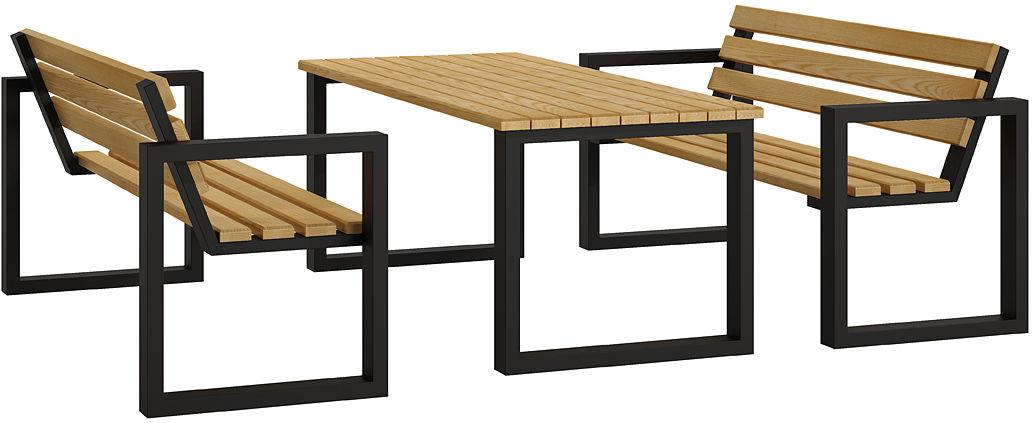 Komplet mebli ogrodowych 150 - Norin 4X