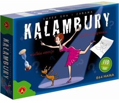 Rodzinna Gra Kalambury 864 Hasła ALEKSANDER