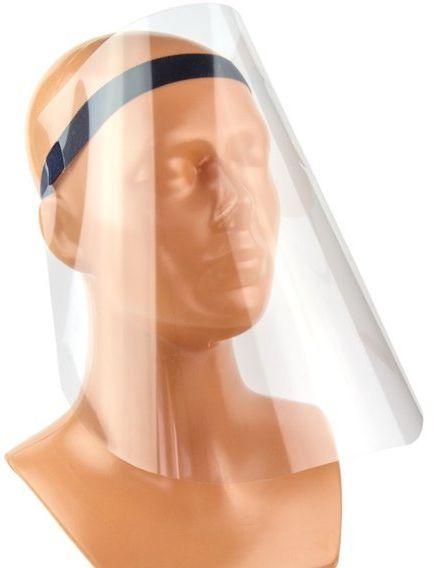 Przyłbica ochronna na twarz i 10 maseczek