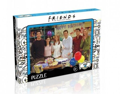 GP-THO Puzzles - Friends Happy Birthday 1000pce