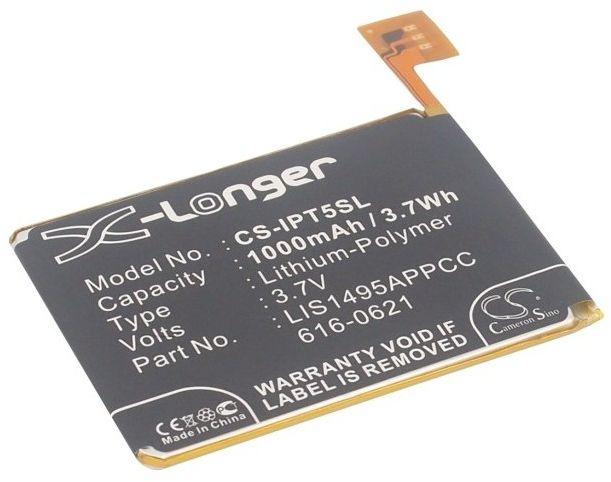 Apple iPod Touch 5 / 616-0621 1000mAh 3.70Wh Li-Polymer 3.7V (Cameron Sino)