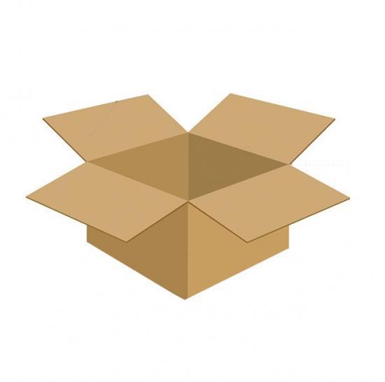 Karton klapowy tekt 3 - 400 x 250 x 200 420g/m2 fala B