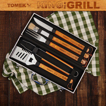 King of the grill - Zestaw do grilla