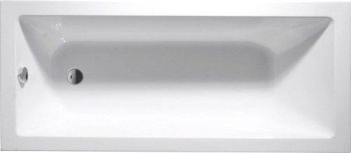 Wanna prostokątna 160x70x41cm biała do zabudowy akrylowa