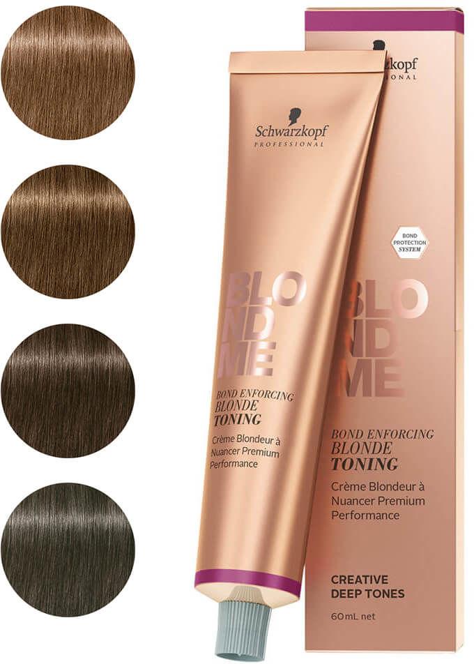 Schwarzkopf BLONDME Blonde Toning Baza głęboko tonująca w kremie do włosów blond 60ml