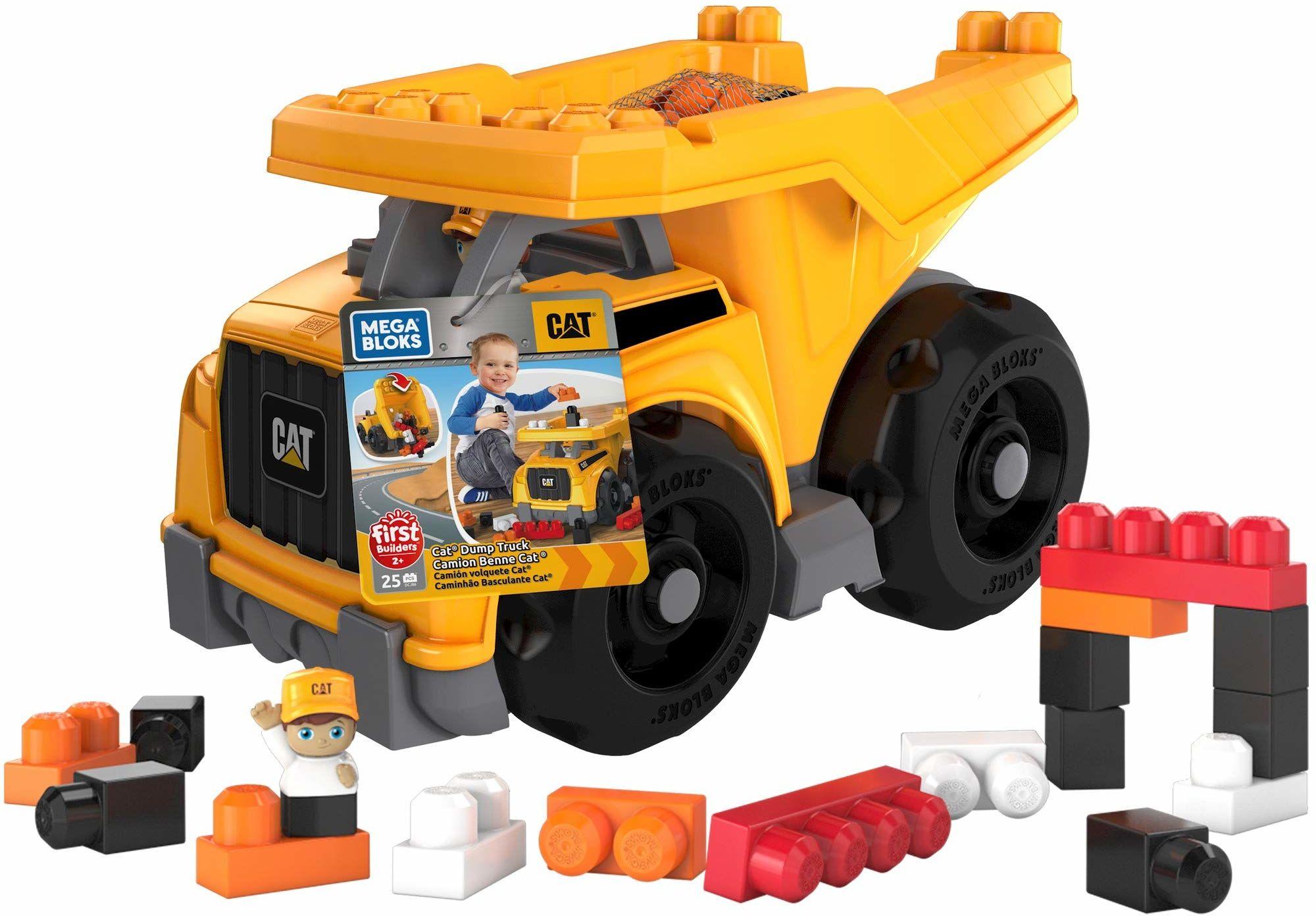 Mega Bloks DCJ86 CAT duży pojazd wywrotka ciężarówki