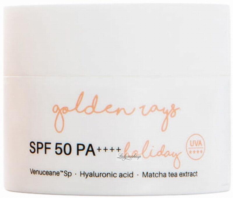 Nacomi - Golden Rays Holiday - Przeciwzmarszczkowy krem do twarzy z filtrem - SPF50 PA++++ - 50 ml