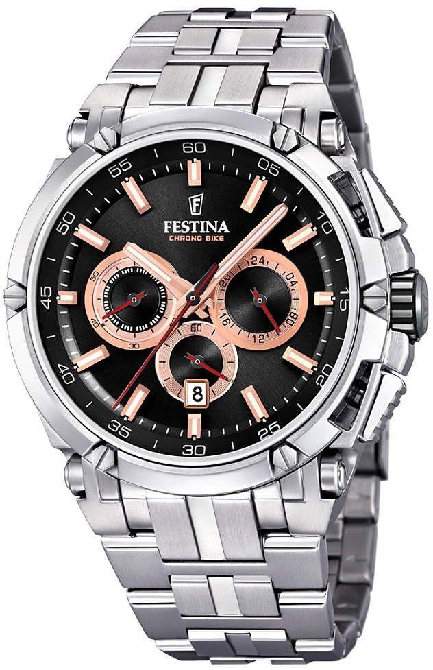 Zegarek Festina F20327-8 Chronobike - CENA DO NEGOCJACJI - DOSTAWA DHL GRATIS, KUPUJ BEZ RYZYKA - 100 dni na zwrot, możliwość wygrawerowania dowolnego tekstu.