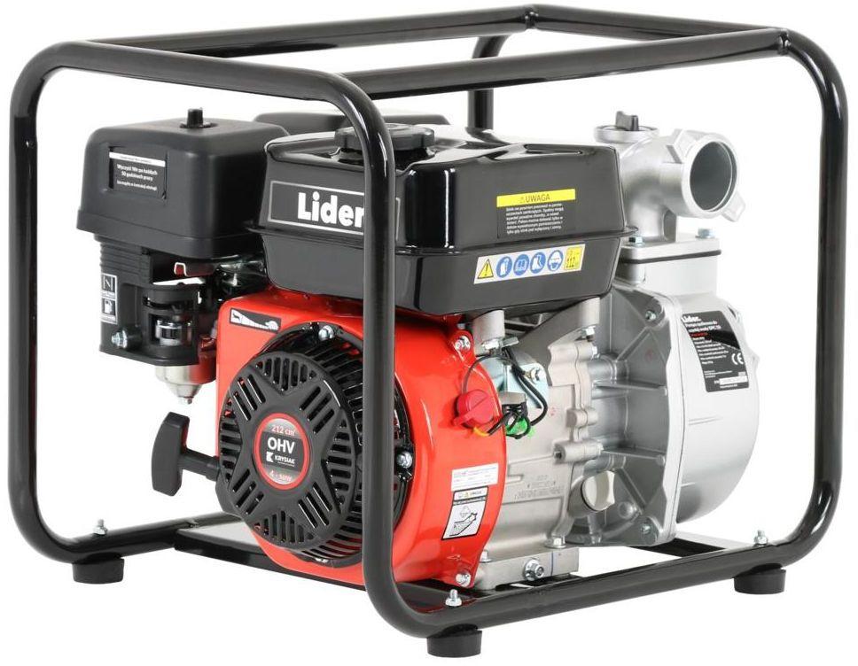 Pompa spalinowa 28000 l/h 4T 212 cm3 5,8 KM LIDER DPC50