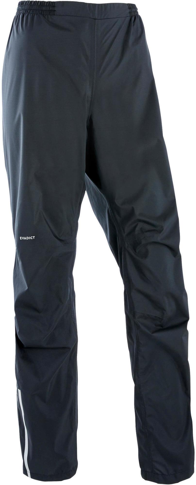 Spodnie do biegania w terenie przeciwdeszczowe damskie Evadict