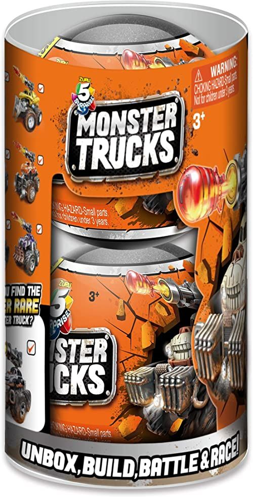 ZURU 5 SURPRISE 77142 Monster Truck Kapsuła kolekcjonerska (2 sztuki)