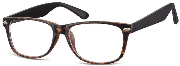 Okulary oprawki zerowki korekcyjne nerdy Sunoptic CP169H panterka