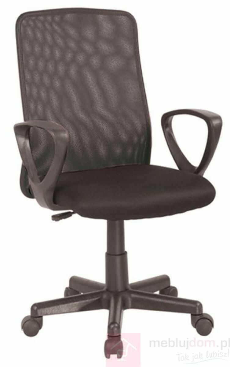KUPON 10% NA STRONIE  Fotel obrotowy Q-083 Signal Czarny [Wysyłka 2021-11-05]