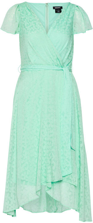 DKNY Sukienka codzienna DD1BD154 Zielony Regular Fit