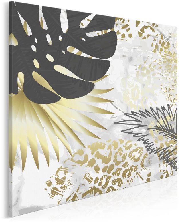 Tahiti - nowoczesny obraz na płótnie - 80x80 cm