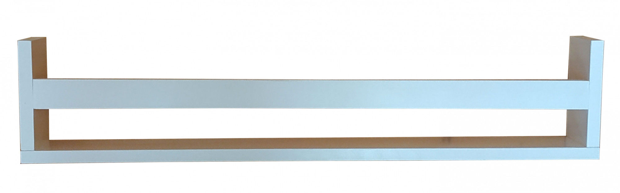 Biała drewniana półka dziecięca na książki 30 kolorów - Romina
