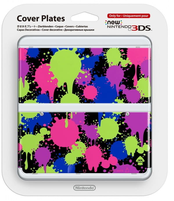 New 3DS Cover Plate 26 (Splatoon)