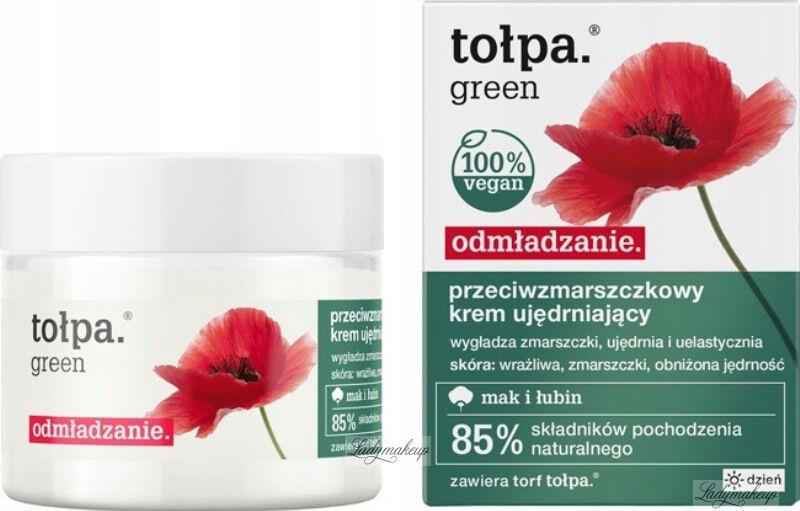 Tołpa - Green - Przeciwzmarszczkowy krem ujędrniający - Dzień - 50 ml