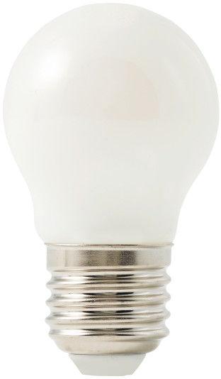 Żarówka LED Diall G45 E27 5,5 W 500 lm mleczna barwa ciepła DIM
