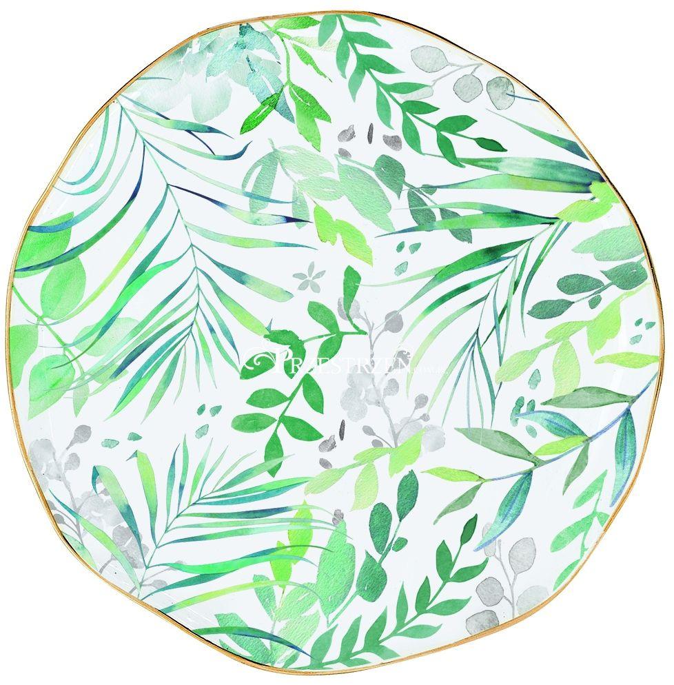 TALERZYK PORCELANOWY - Amazonia Paradise - mały 16 cm - 1581 AMAZ