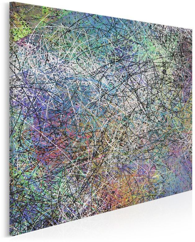Nabaziando - nowoczesny obraz do salonu - 80x80 cm