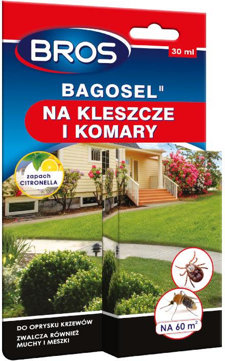 Bros Bagosel 30ml. Oprysk na komary, kleszcze, muchy, meszki.