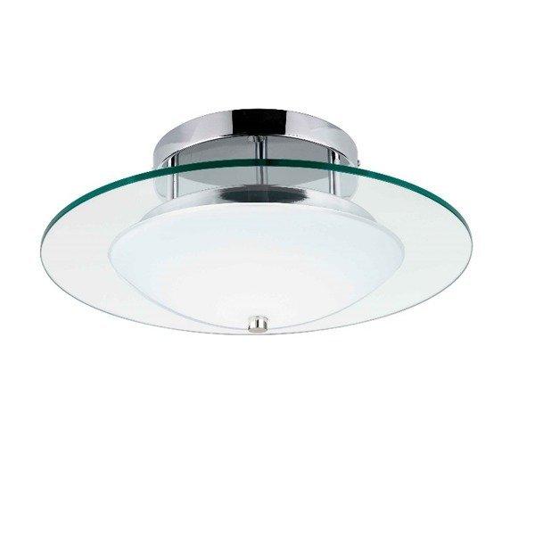 Lampa plafon MINNESOTA okrąg szklana 45cm LED