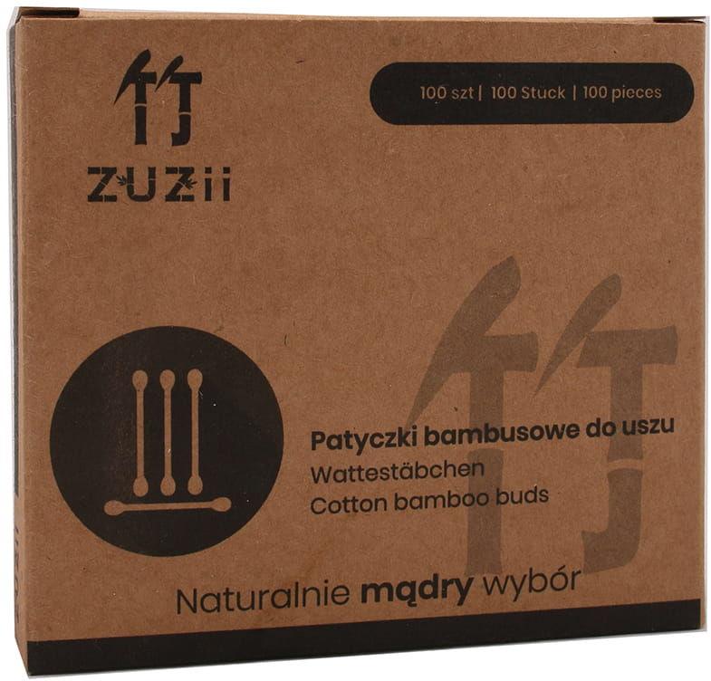 Bambusowe patyczki kosmetyczne - Yuji - 100szt