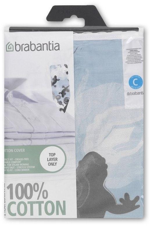 Brabantia - pokrowiec na deskę do prasowania 124 x 45cm - bez pianki - gecko