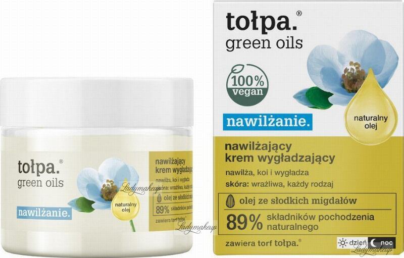Tołpa - Green Oils - Nawilżająco-wygładzający krem do twarzy - Dzień / Noc - 50 ml