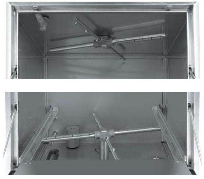 Zmywarka do naczyń 50x50 - sterowanie elektromechaniczne 230 V HENDI 230220 230220