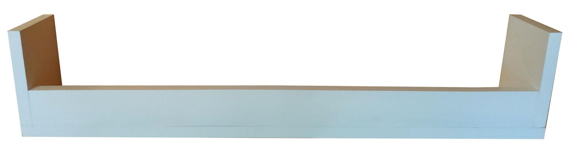 Minimalistyczna drewniana półka dziecięca 30 kolorów - Camila