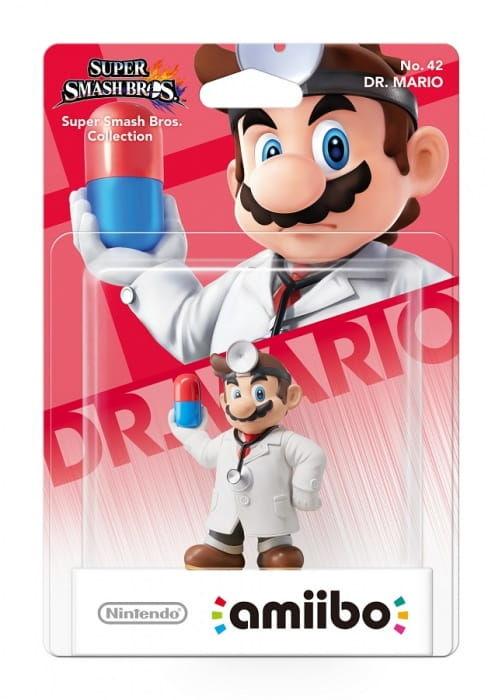 Figurka Amiibo Smash Dr Mario